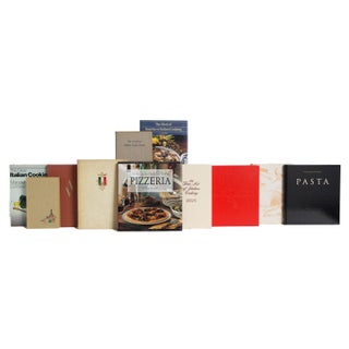 Italian Cuisine Cook Book Set, (S/18) Preview