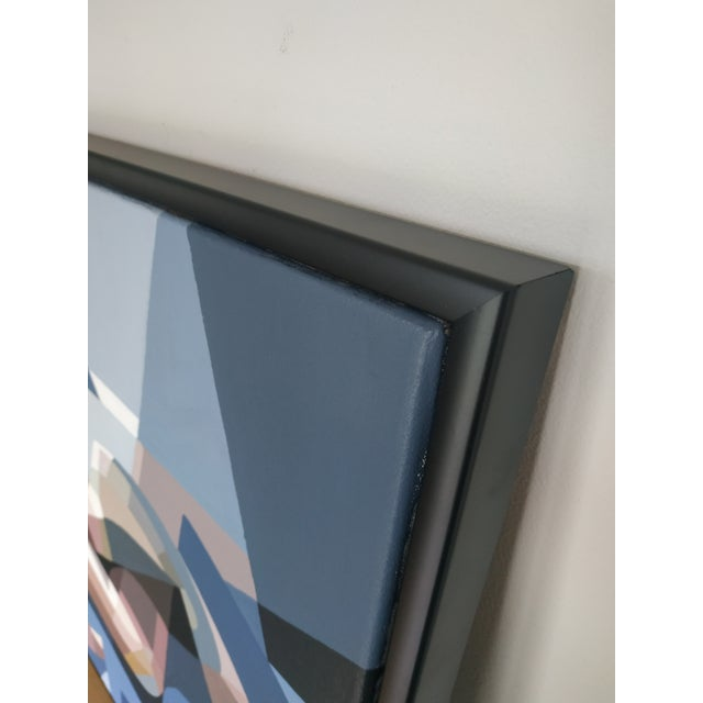 Andy Dobbie Contemporary Acrylic Painting by Andy Dobbie, La Demoiselle d'Ynys Mon For Sale - Image 4 of 7