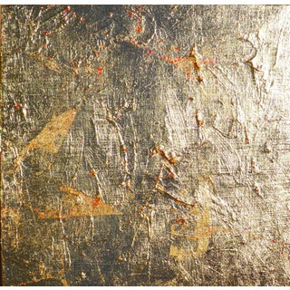 """Gold Leaf Contemporary Painting """"Gold"""" by Martha Holden For Sale"""
