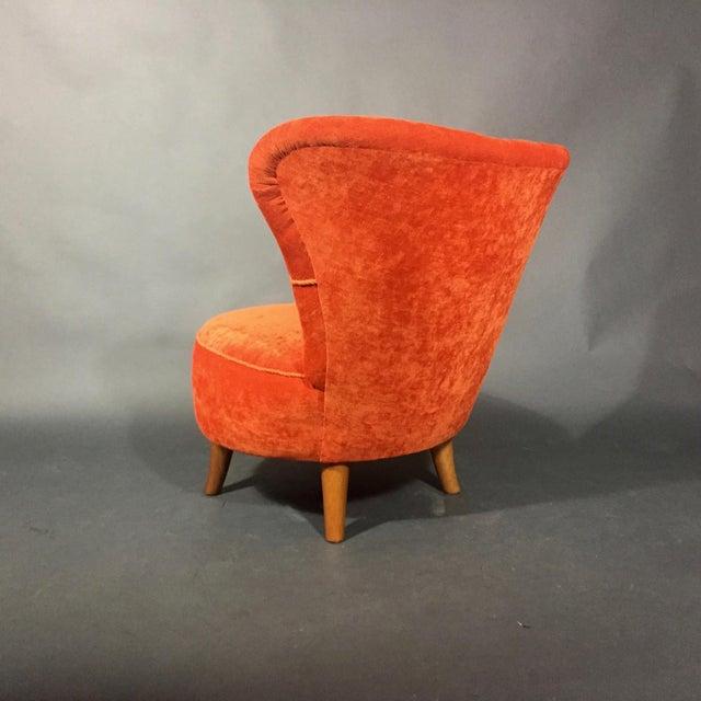 Mid-Century Modern Easy Chair by Oskar Bernströms Möbelfabrik, Sweden 1950s For Sale - Image 3 of 10