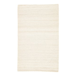 Jaipur Living Hutton Natural Solid White Area Rug - 2' X 3' For Sale