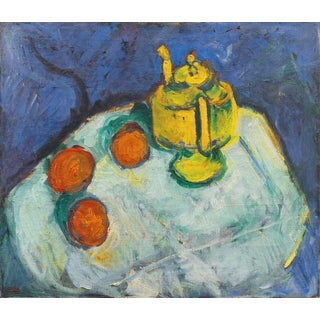 Kay Christensen Still Life With Teapot 1922 For Sale