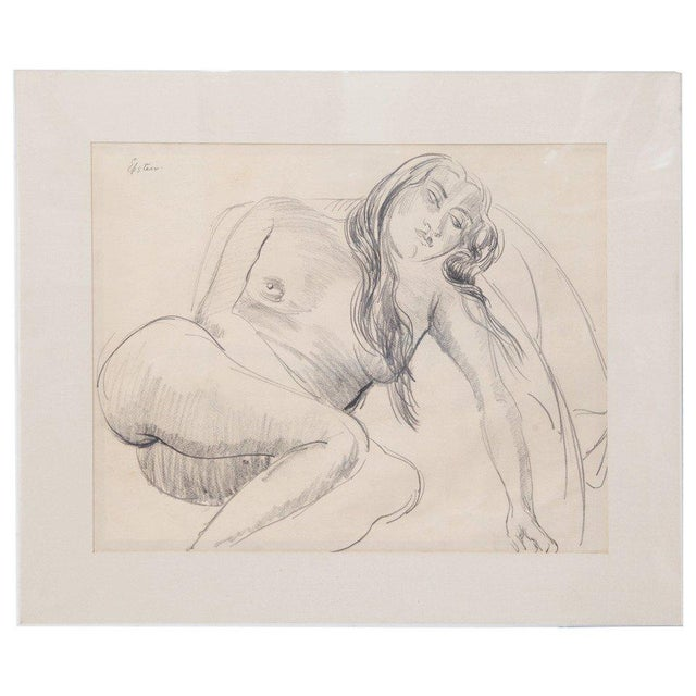 1930s Sir Jacob Epstein Pencil Drawings For Sale - Image 5 of 5