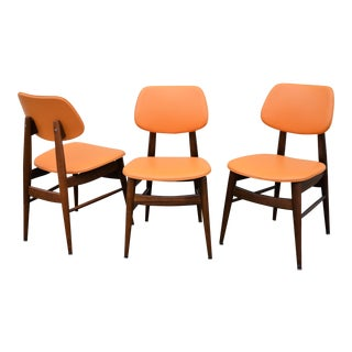 Thonet Mid-Century Modern Dining Chairs - Set of 3 For Sale