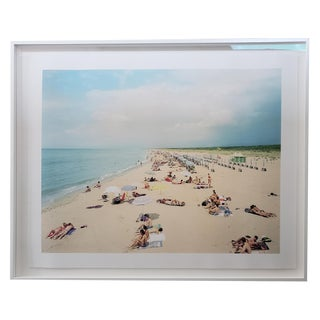 People on the Beach Framed Photo For Sale