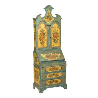Early 20th Century Louis XVI Oak Venetian Secretary For Sale