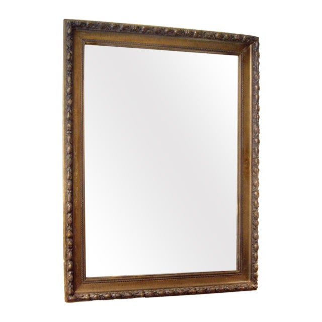 19th C. Italian Worn Gilt Mirror For Sale In New Orleans - Image 6 of 6