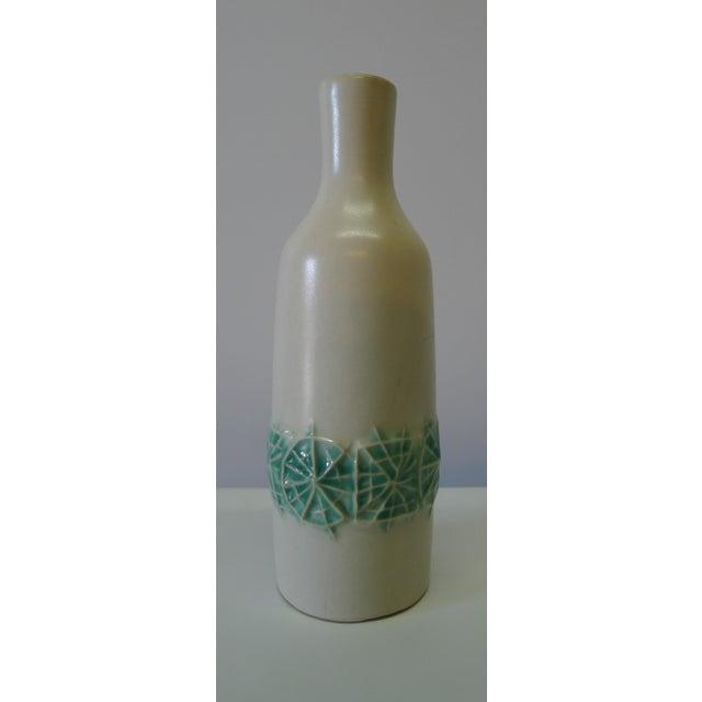 Ceramic 20th Century Danish Modern Ceramic Cabinet Vase For Sale - Image 7 of 7