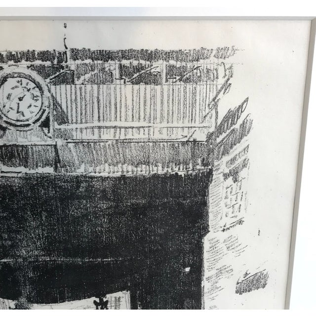Framed Industrialist Drawing For Sale - Image 4 of 8