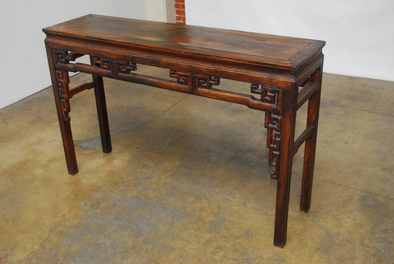 Qing Dynasty Chinese Altar Table   Image 3 Of 9