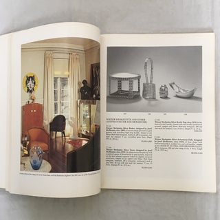 "1988 Sotheby's ""Andy Warhol Collection Art Nouveau & Art Deco Volume I"" Auction Catalog Preview"