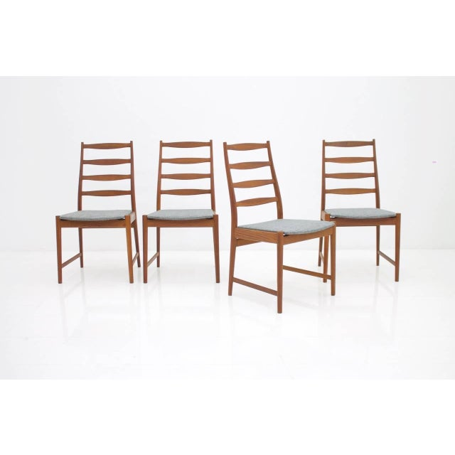 Torbjørn Afdal Teak Dining Chairs by Vamo, Denmark, 1960s For Sale - Image 6 of 12