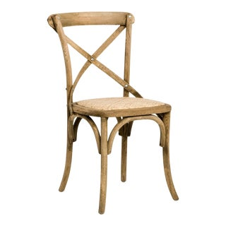 Somer Parisienne Cafe Side Chair in Beige For Sale
