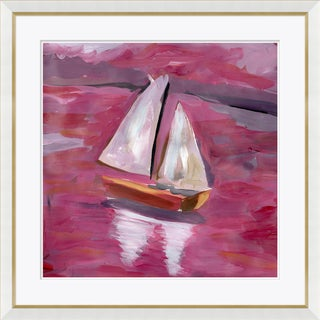 """Voyage Home"" By Dana Gibson, Framed Art Print For Sale"