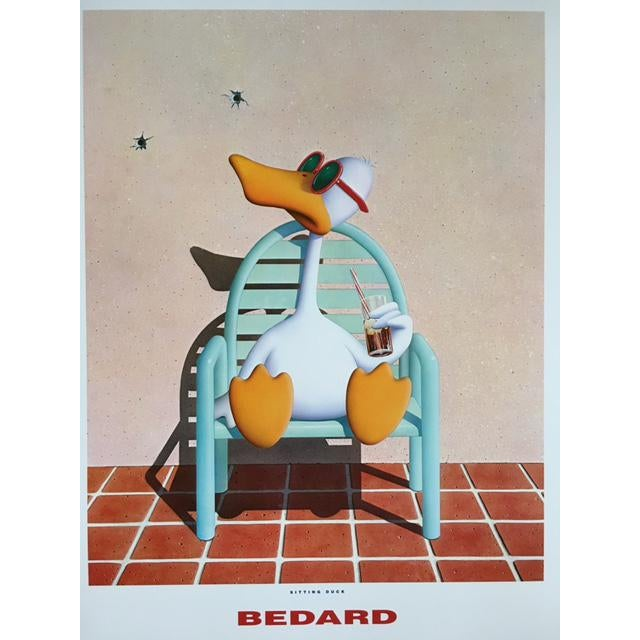 Michael Bedard Sitting Duck Lithograph - Image 3 of 9