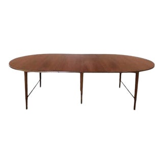Mid-Century Modern Oval Dining Table by Paul McCobb For Sale