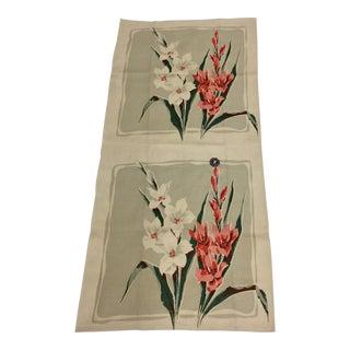 Vintage Pride of Flanders Linen Hand Towel For Sale