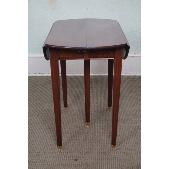 Solid Cherry Drop Leaf Extension Dining Table W 4 Leaves