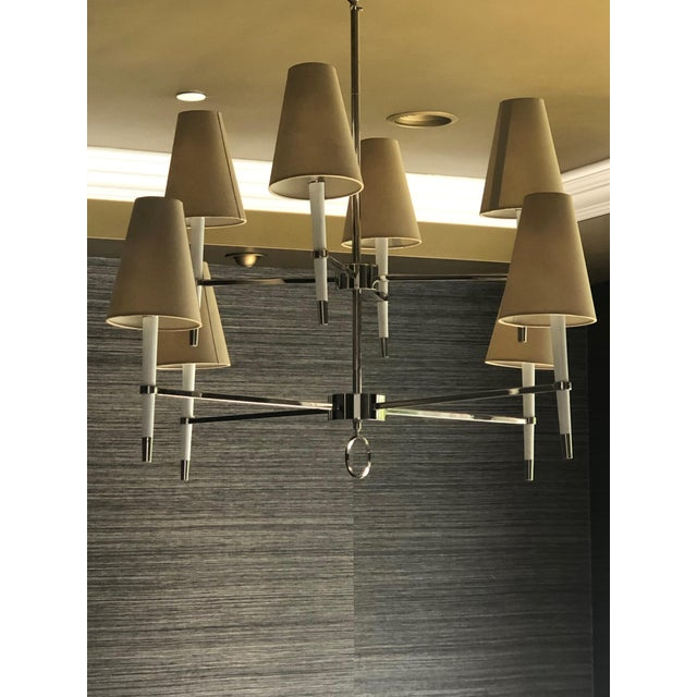 2020s Jonathan Adler Ventana Two-Tier Chandelier For Sale - Image 5 of 5