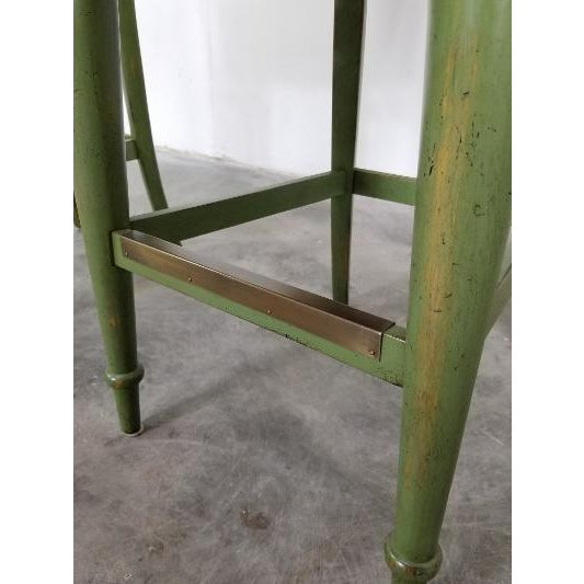 Hickory Century Ostrich Barstools For Sale In Los Angeles - Image 6 of 13