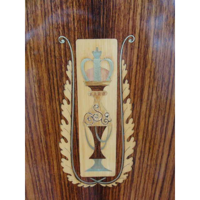 An Extraordinary Italian Cabinet in Rosewood & Exotic Inlay - Image 7 of 9