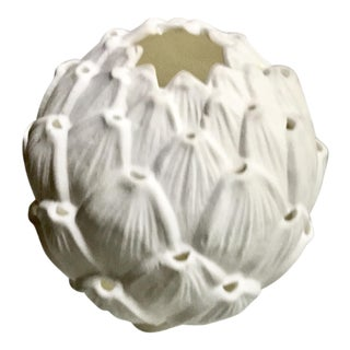 White Porcelain Sea Life Candle Votive