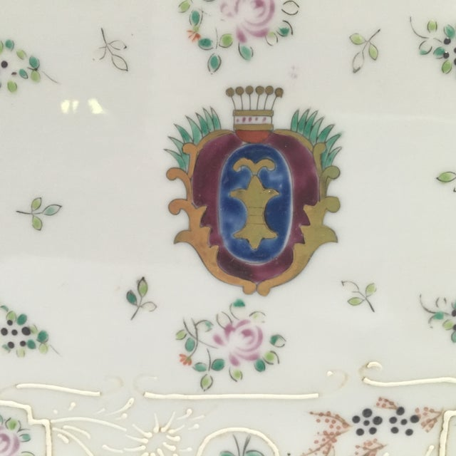 Hand Painted Embossed Ornate Dresser Tray - Image 5 of 8