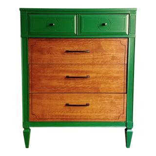 1970's Vintage Green Dresser For Sale
