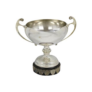 Mid-Century English Silver-Plate Trophy