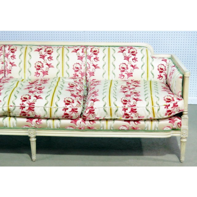 Louis XV Flair Decorators Inc Louis XV Style Sofa For Sale - Image 3 of 8
