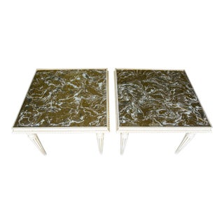Vintage Mid-Century Coffee Tables - a Pair