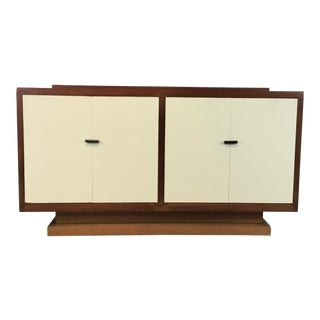 Vintage Art Deco Style Mahogany Cabinet For Sale