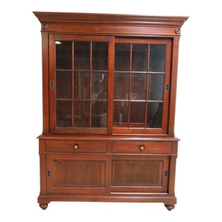 Ethan Allen British Classics Duval China Cabinet