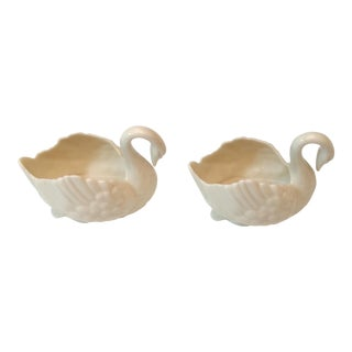 Lenox Swan Bowls - a Pair For Sale