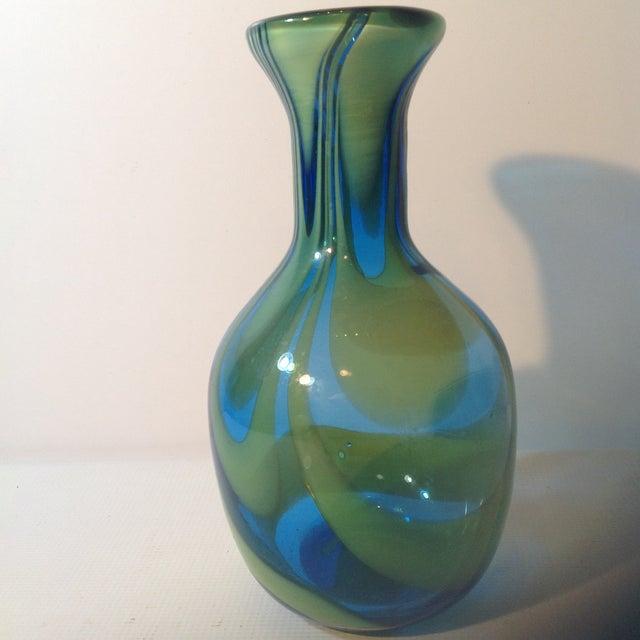 Super Blenko Designer Series Drag Loop Vase - Image 2 of 6