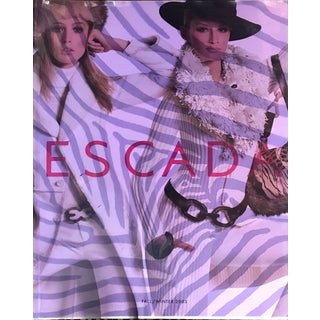 Escada Vintage Fashion Catalog Fall/Winter 2003 With Price List Hardcover Book For Sale