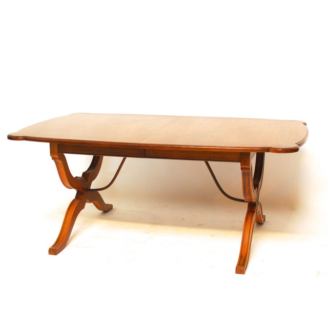 Spanish Trestle Dining Table - Image 2 of 6