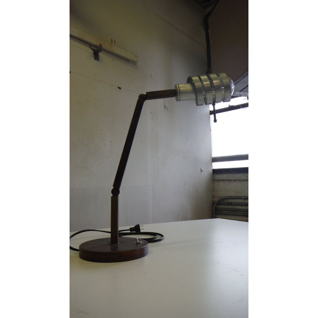 Adjustable Crane Desk Lamp For Sale - Image 5 of 7