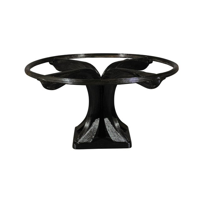 Extraordinary Trompe L'oiel Dining or Centre Table by Betty Cobonpue, circa 1980 For Sale - Image 13 of 13