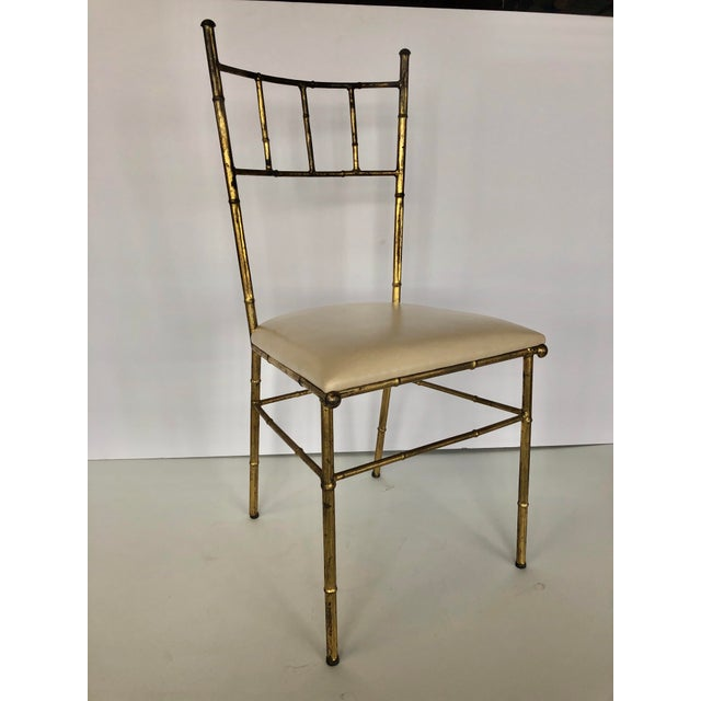 1950s 1950s Mid Century Italian Side Chair For Sale - Image 5 of 5