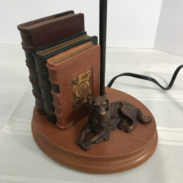 Dog and Book Collection Desk Lamp - Image 9 of 10