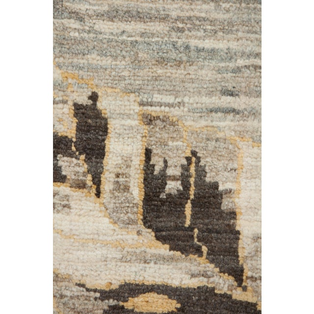 "Contemporary New Transitional Hand Knotted Rug - 8' 3""x10' 3"" For Sale - Image 3 of 3"