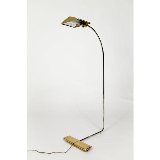 Brass 1970s Cedric Hartman Brass Floor Lamp For Sale - Image 8 of 13