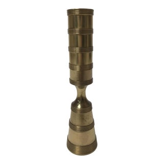 Brass Candlestick Holder by Dansk