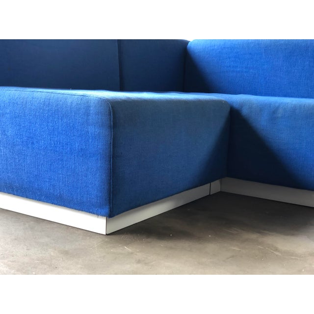 Textile Vintage 1972 Knoll Modular Sectional Sofa For Sale - Image 7 of 13