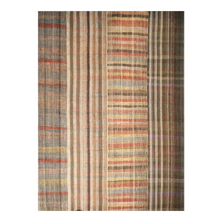 Vintage Rustic Contemporary Oversize Kilim Rug - 13′1″ × 18′10″ For Sale