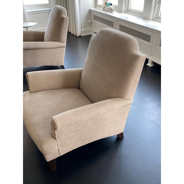 Holly Hunt Gray Chairs - A Pair For Sale In Chicago - Image 6 of 9