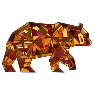 """Lucky Bear"" Painting by Mauro Oliveira For Sale"
