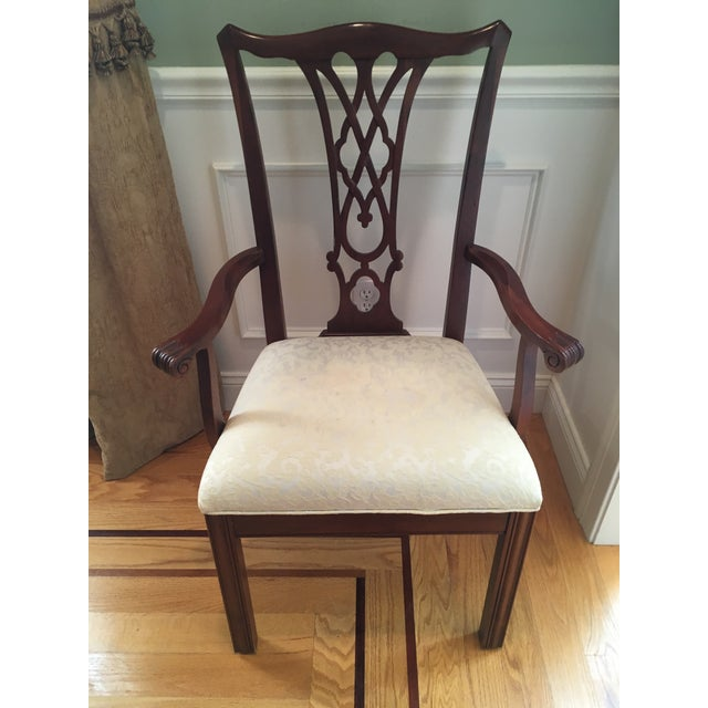 Ethan Allen Traditional Ethan Allen Dining Set - 7 Pieces For Sale - Image 4 of 5