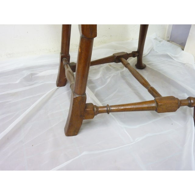 Wood 18th Century American Sidechair For Sale - Image 7 of 9